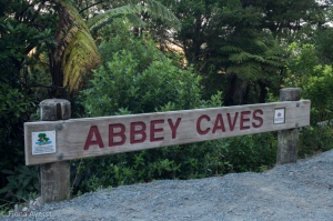 Free access to abbey caves and glow worms